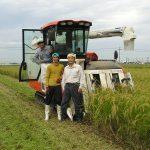 稲刈り 終了